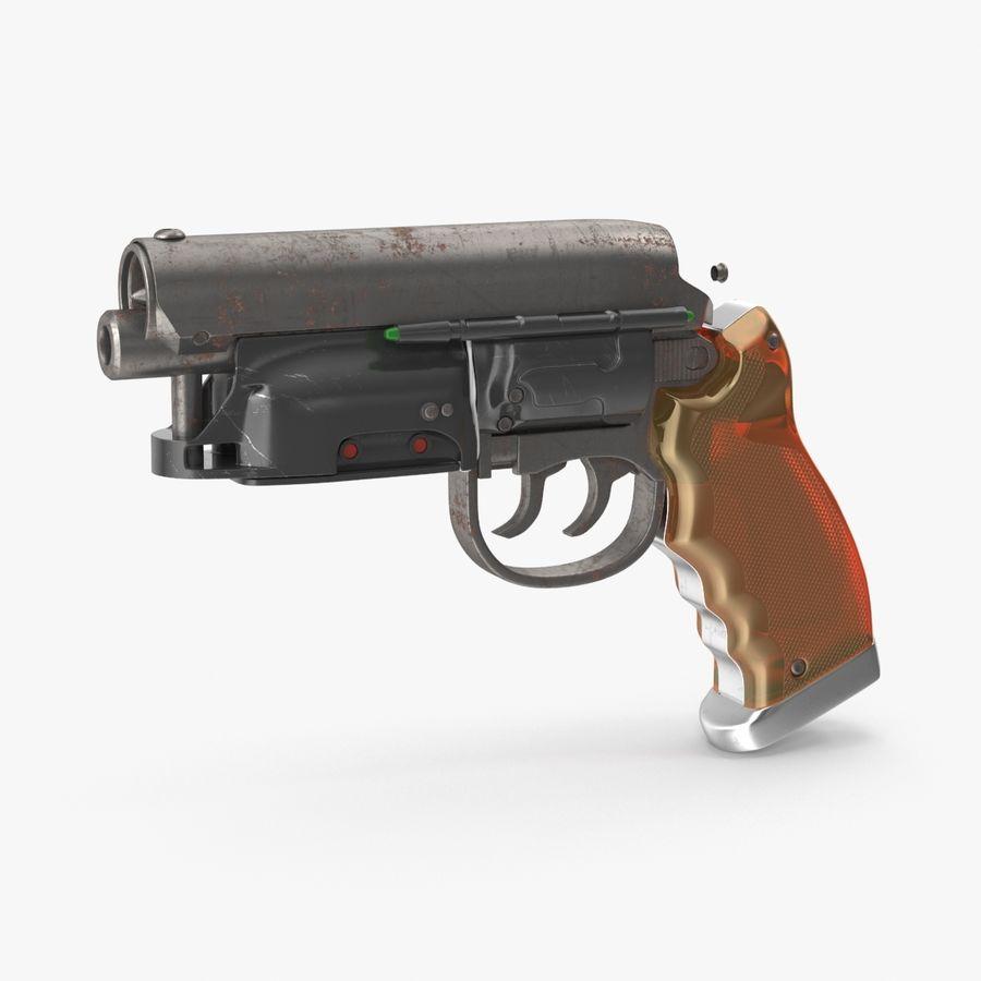 Blade Runner Deckard Gun royalty-free 3d model - Preview no. 1
