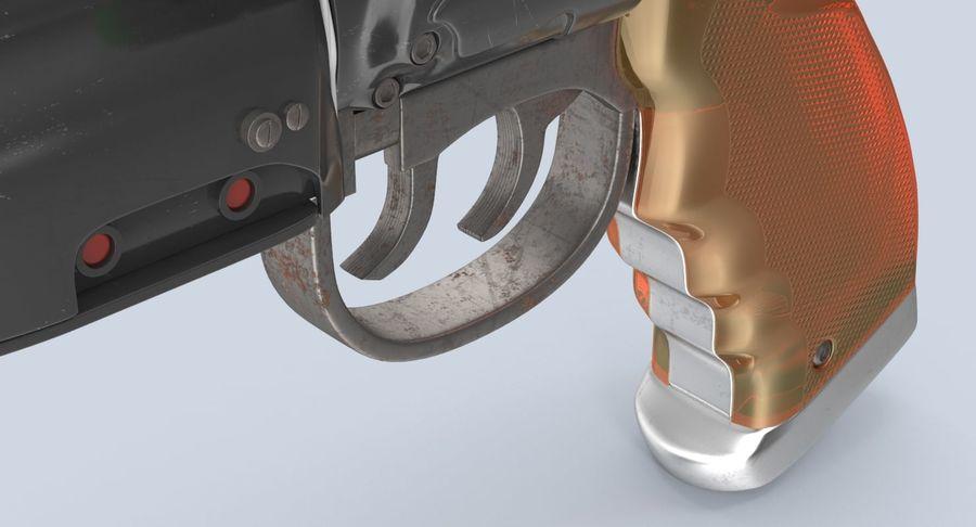 Blade Runner Deckard Gun royalty-free 3d model - Preview no. 12