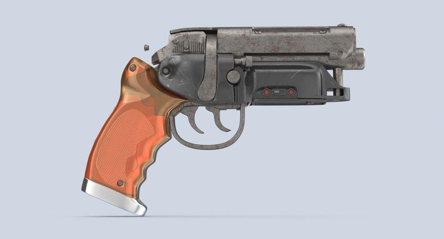 Blade Runner Deckard Gun royalty-free 3d model - Preview no. 7