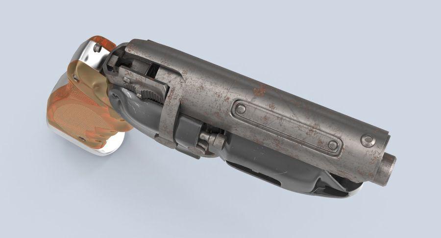 Blade Runner Deckard Gun royalty-free 3d model - Preview no. 8