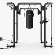 Fitness, Omnia Technogym functional training concept 3d model