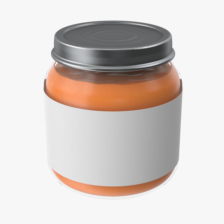 Pot de nourriture pour bébé 02 modèle 3D $19 -  ma  fbx  c4d