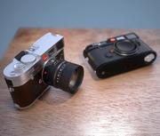 Eski fotoğraf makinesi Leica M 3d model