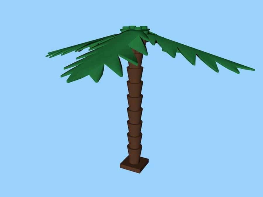 Lego Palm Tree 3d Model 5 X C4d 3ds Dae Dxf Fbx Stl Wrl Obj Unknown Free3d
