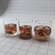 Rock Tumbler Glasses 3d model