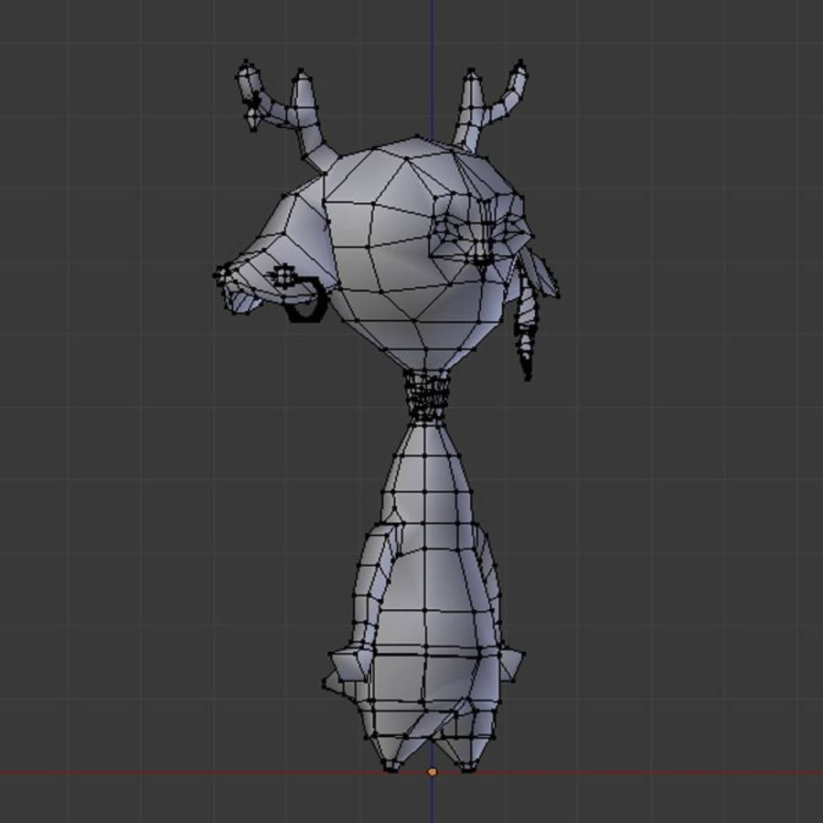 beast royalty-free 3d model - Preview no. 6
