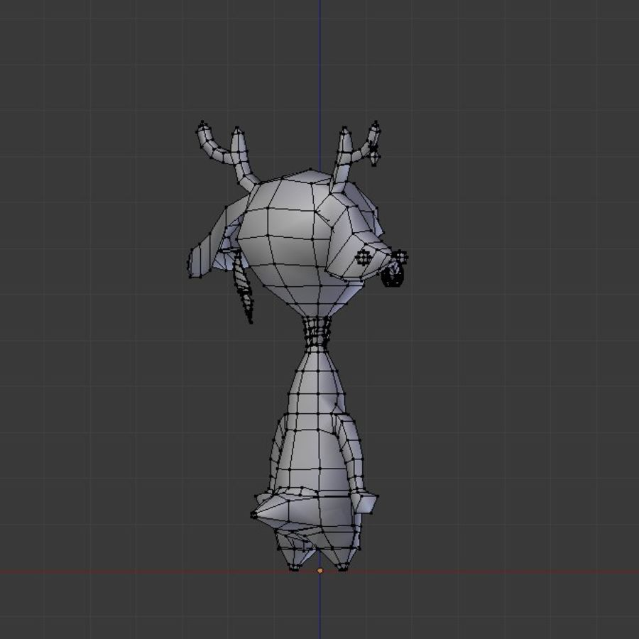 beast royalty-free 3d model - Preview no. 8