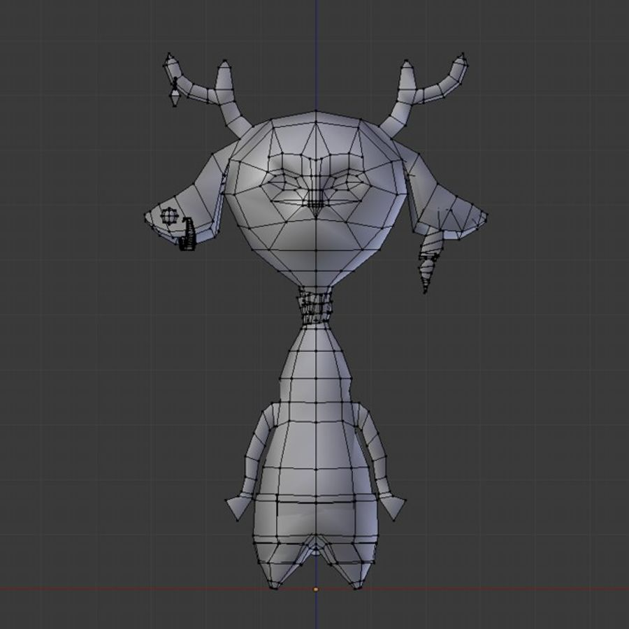 beast royalty-free 3d model - Preview no. 5