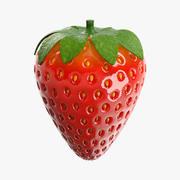 fraise 3d model