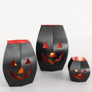 Cadılar Bayramı fener 3d model