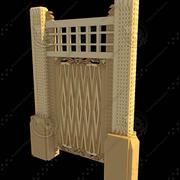 Beautiful Medieval Door 3d model