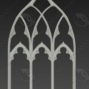 Średniowieczny katolicki przedmiot 02 3d model