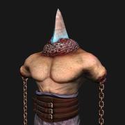 undead gladiator 3d model