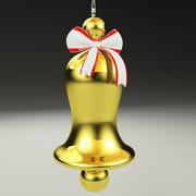 Campana di Natale 3d model