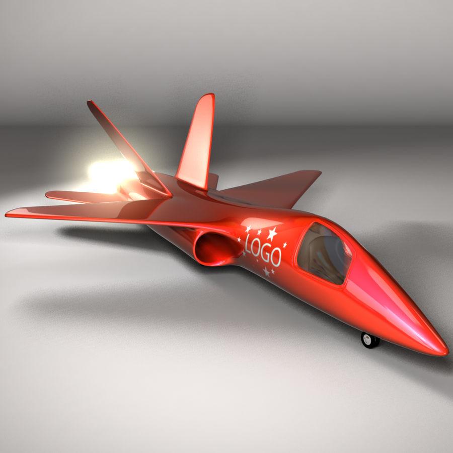 Jet Plane royalty-free 3d model - Preview no. 1