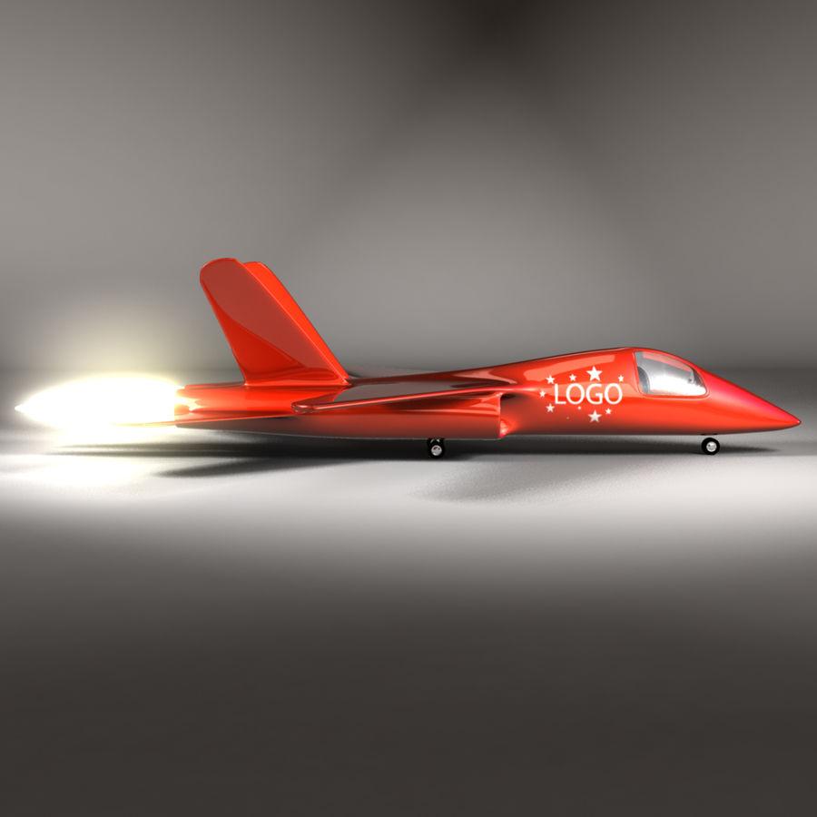 Jet Plane royalty-free 3d model - Preview no. 4