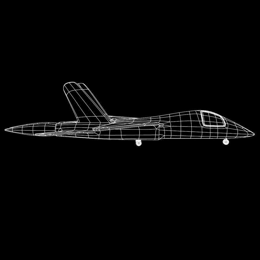 Jet Plane royalty-free 3d model - Preview no. 9