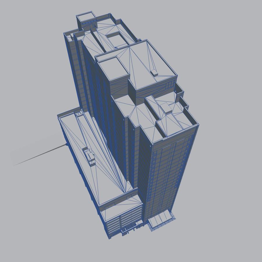 高层建筑 royalty-free 3d model - Preview no. 12