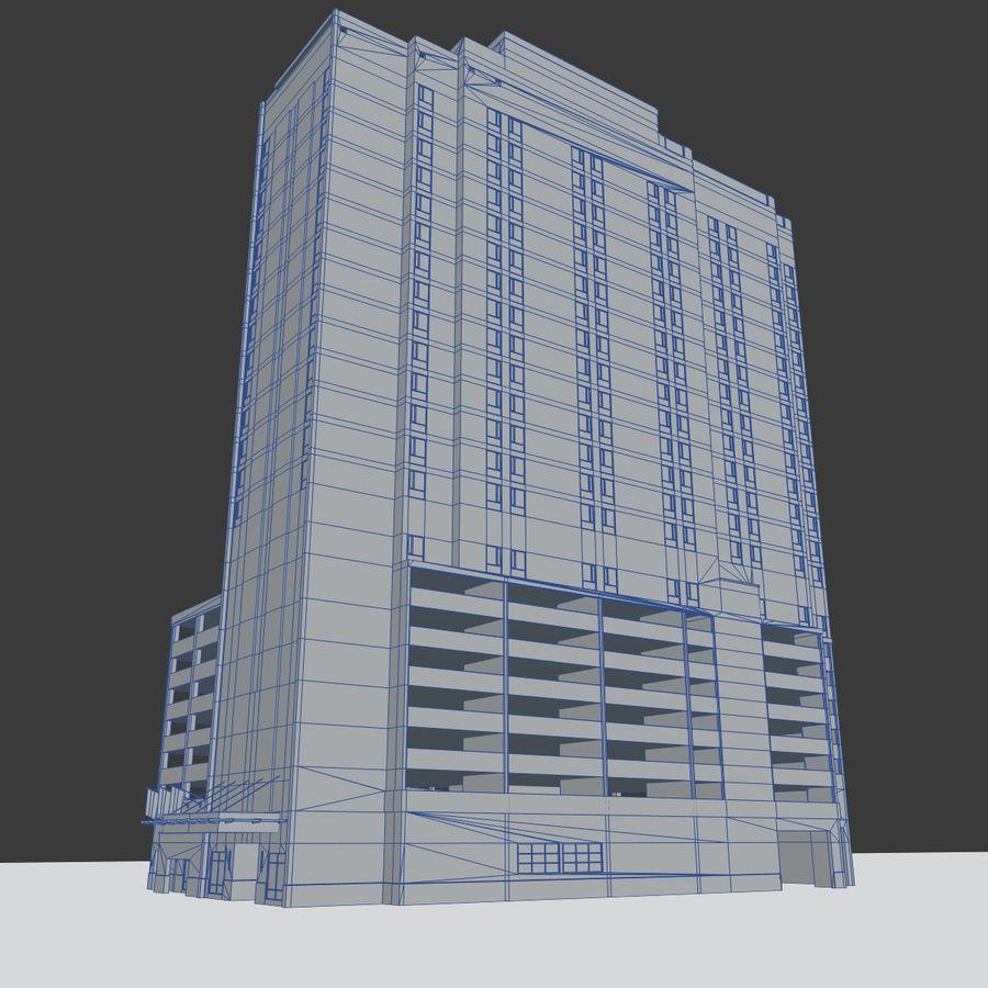 高层建筑 royalty-free 3d model - Preview no. 9