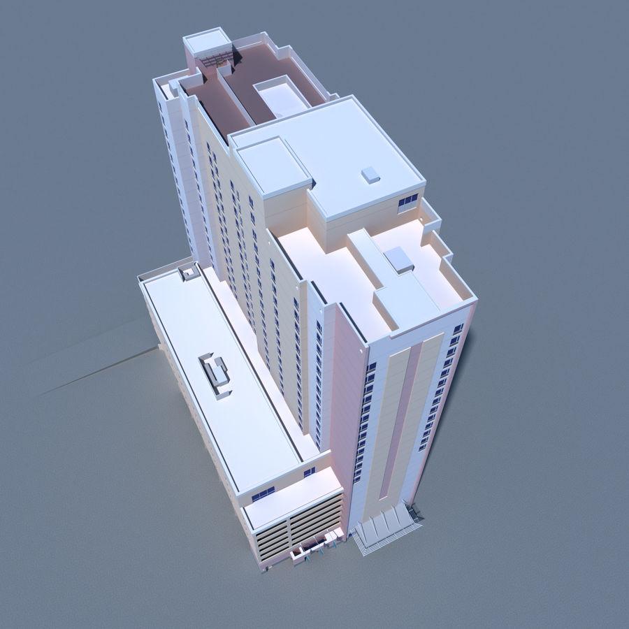 高层建筑 royalty-free 3d model - Preview no. 6