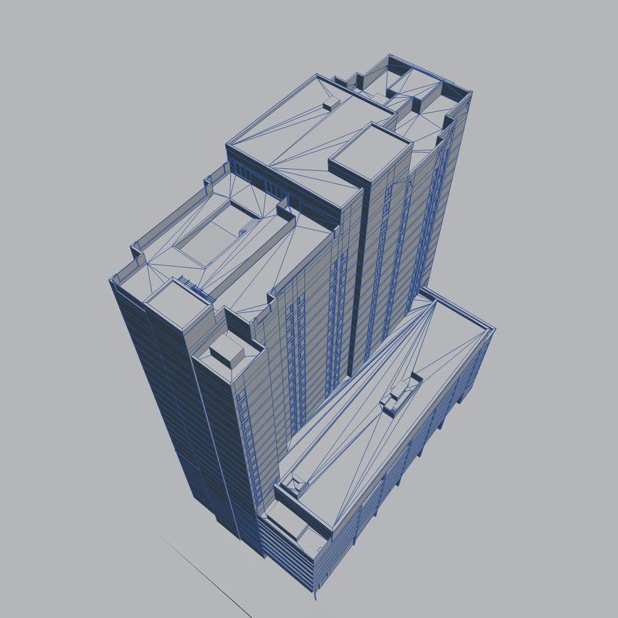 高层建筑 royalty-free 3d model - Preview no. 11