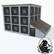 街房 3d model