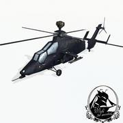 欧洲直升机虎 3d model
