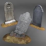 Tombstones 3d model