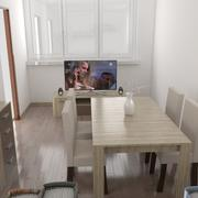 Интерьер гостиной 3d model
