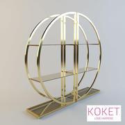 Bookcase Decadence by Koket 3d model