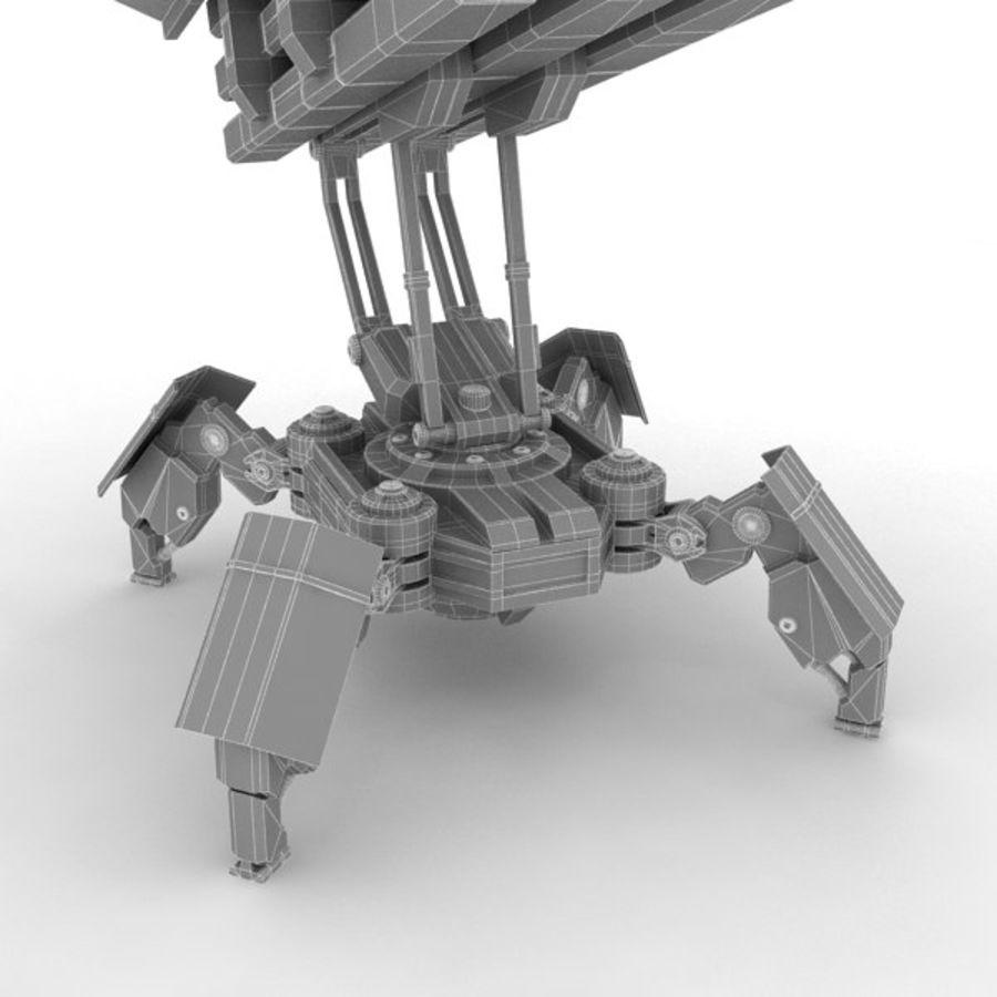 Walker Rocket Launcher royalty-free 3d model - Preview no. 23