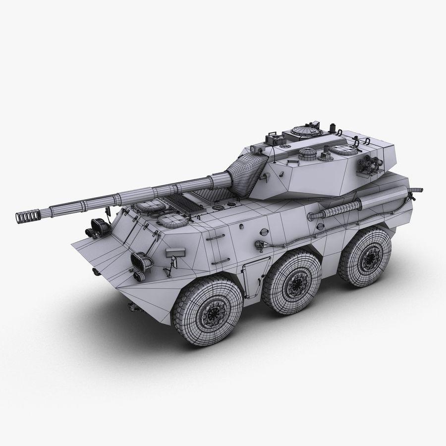 PTL02 Tank Destroyer V1 royalty-free 3d model - Preview no. 30
