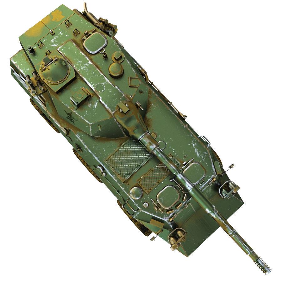 Niszczyciel czołgów PTL02 V1 royalty-free 3d model - Preview no. 6