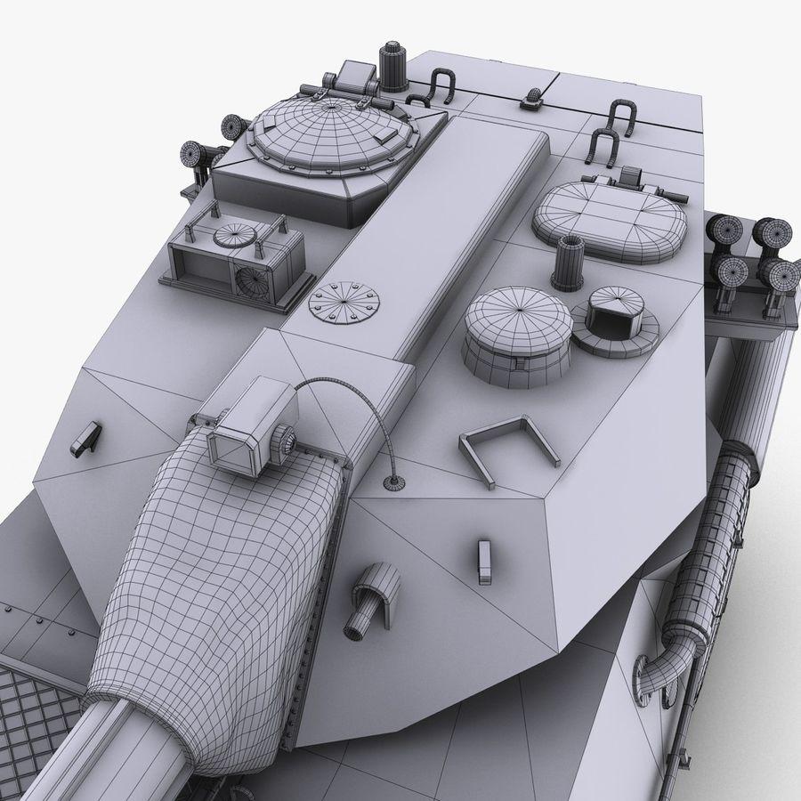 Niszczyciel czołgów PTL02 V1 royalty-free 3d model - Preview no. 35