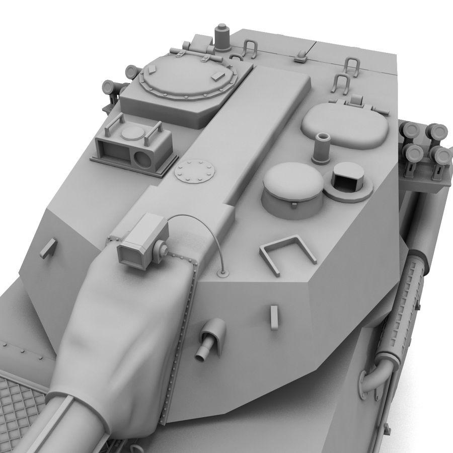 Niszczyciel czołgów PTL02 V1 royalty-free 3d model - Preview no. 22