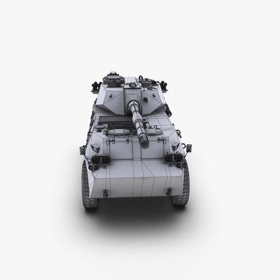 Niszczyciel czołgów PTL02 V1 royalty-free 3d model - Preview no. 28