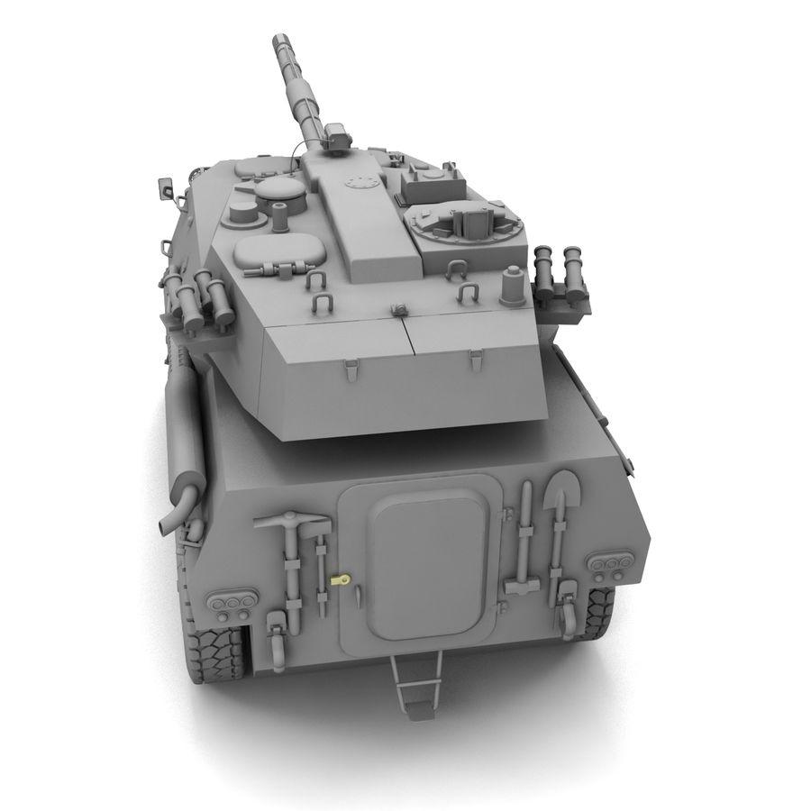 Niszczyciel czołgów PTL02 V1 royalty-free 3d model - Preview no. 17