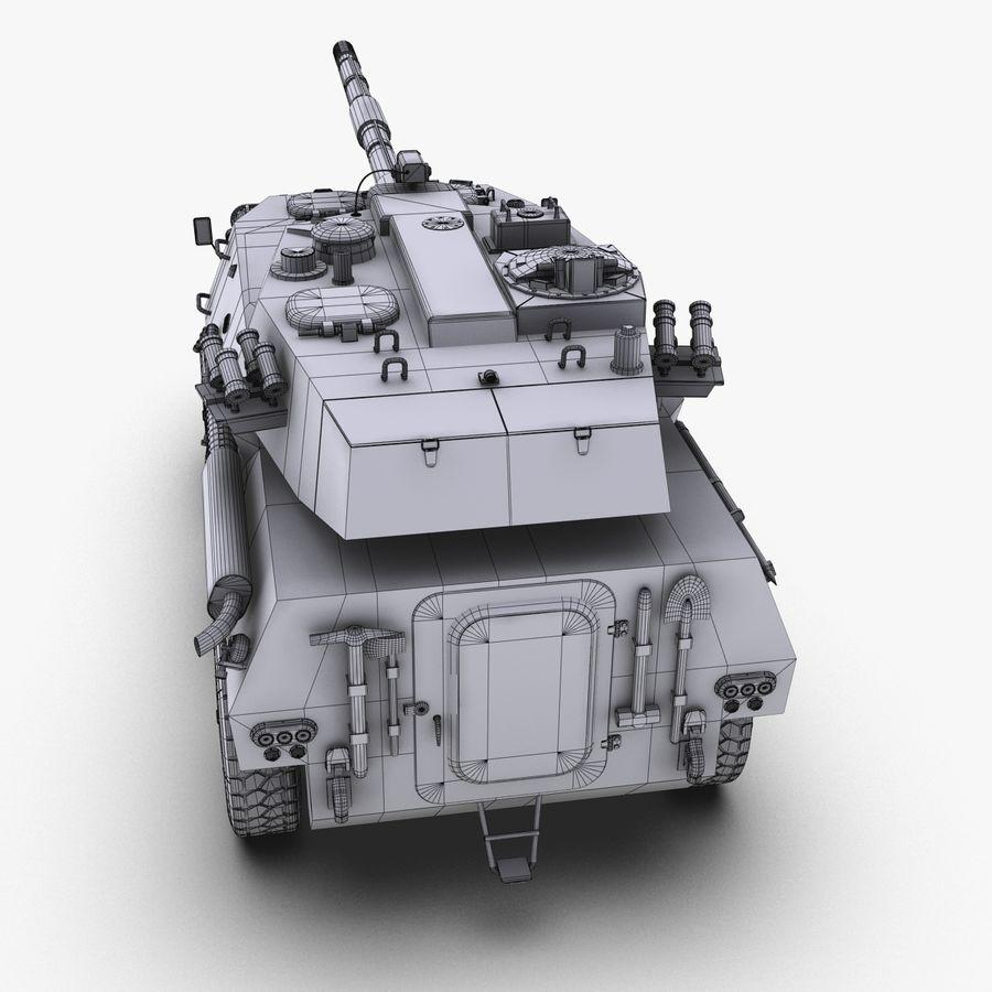 Niszczyciel czołgów PTL02 V1 royalty-free 3d model - Preview no. 29