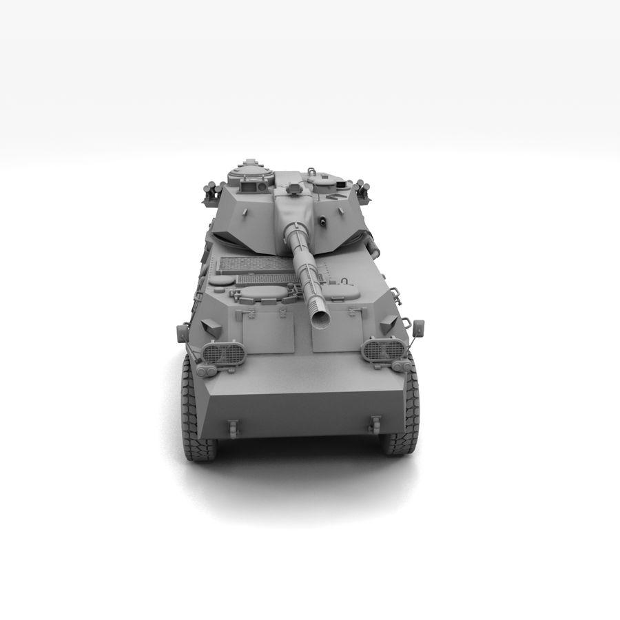 Niszczyciel czołgów PTL02 V1 royalty-free 3d model - Preview no. 16
