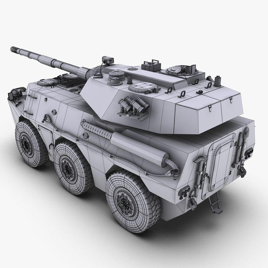Niszczyciel czołgów PTL02 V1 royalty-free 3d model - Preview no. 34