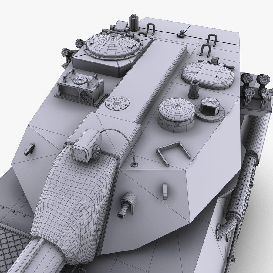 PTL02 Tank Destroyer V1 royalty-free 3d model - Preview no. 35