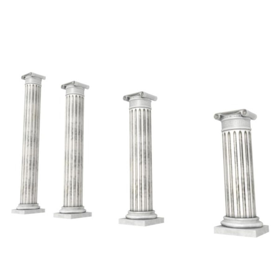 Ancient Pillar royalty-free 3d model - Preview no. 5