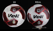 Ball Fußball 3d model