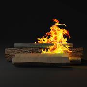 Ateş 3d model