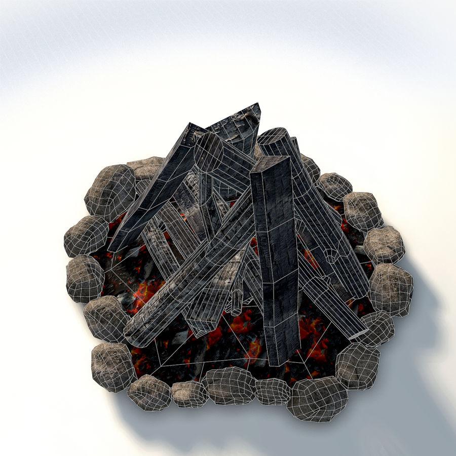 Gra w ognisko jest gotowa royalty-free 3d model - Preview no. 9