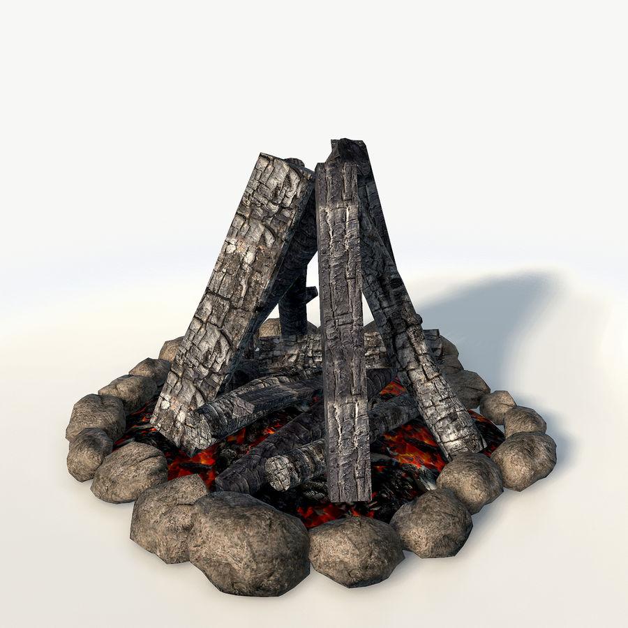 Gra w ognisko jest gotowa royalty-free 3d model - Preview no. 2