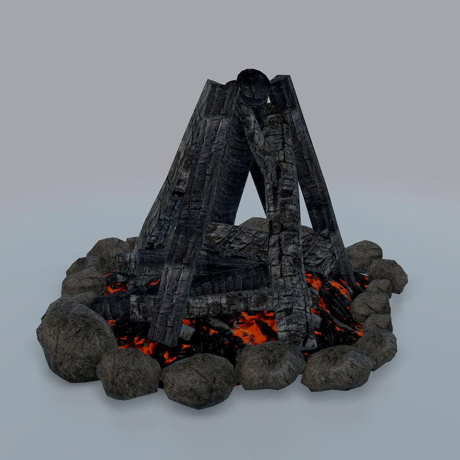 Gra w ognisko jest gotowa royalty-free 3d model - Preview no. 10