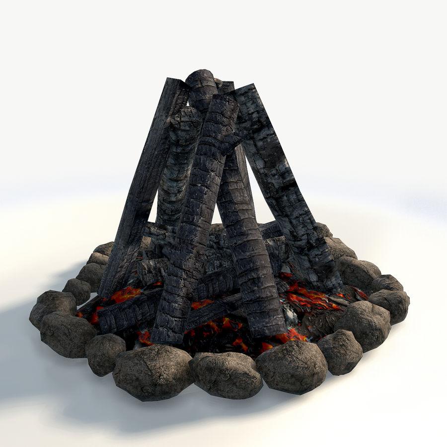 Gra w ognisko jest gotowa royalty-free 3d model - Preview no. 6