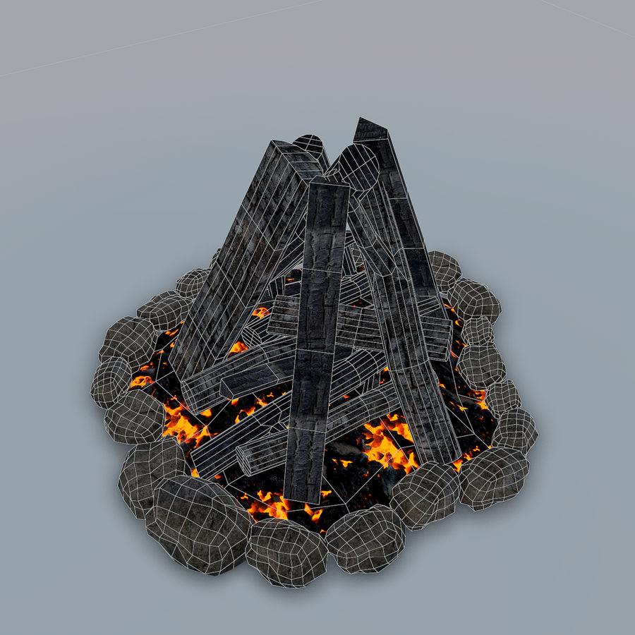 Gra w ognisko jest gotowa royalty-free 3d model - Preview no. 13