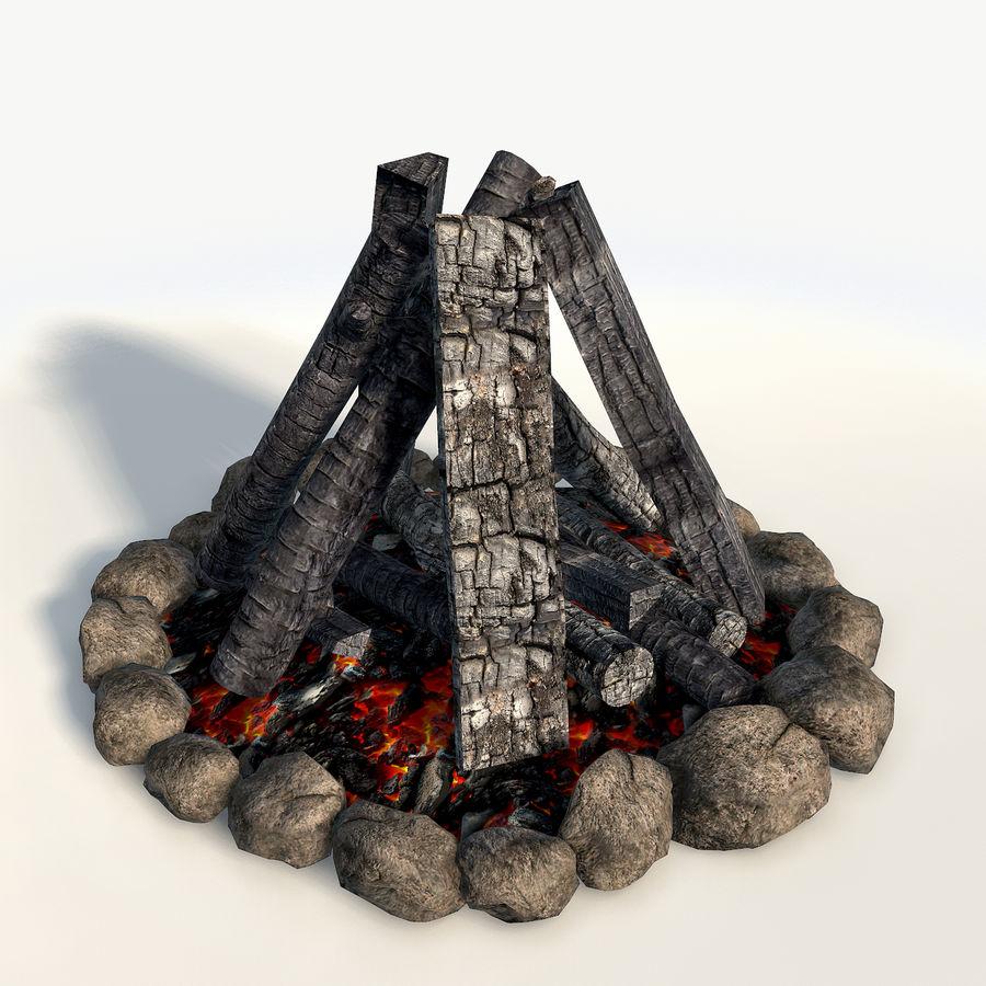 Gra w ognisko jest gotowa royalty-free 3d model - Preview no. 4